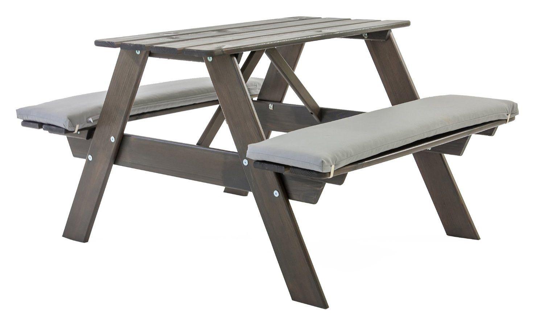 Gartenbank Grau Mit Tisch Ambientehome Spielbank Spieltisch