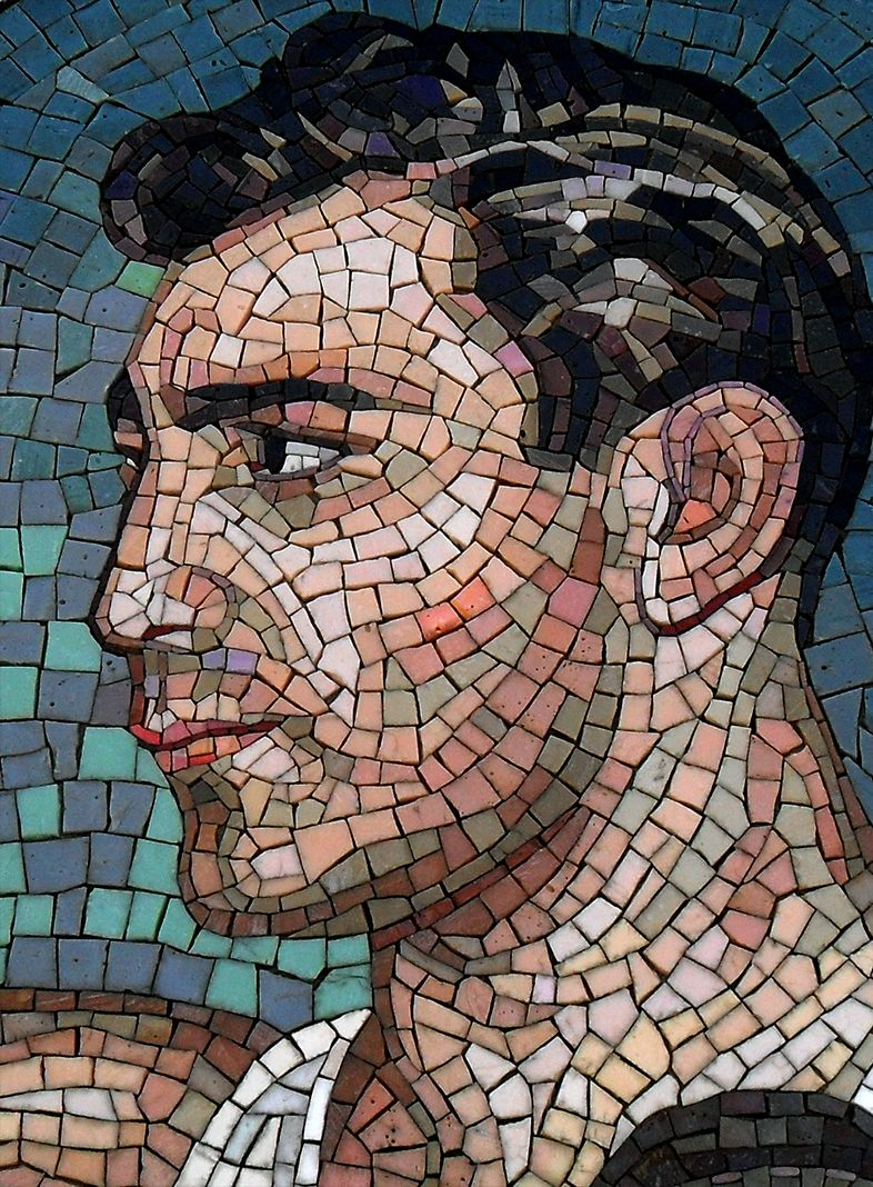 Was Johnny Bench Gay Part - 45: Boxer Johnny Greco, Mosaic Artist Unknown