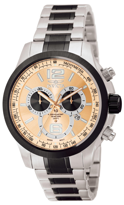 b6a2702d218a Invicta Men s 0079 Specialty Quartz Chronograph Brown Dial Watch ...