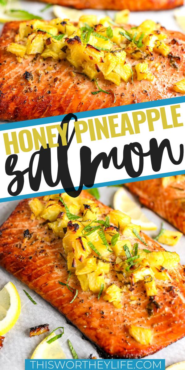 Photo of Honey Pineapple Salmon