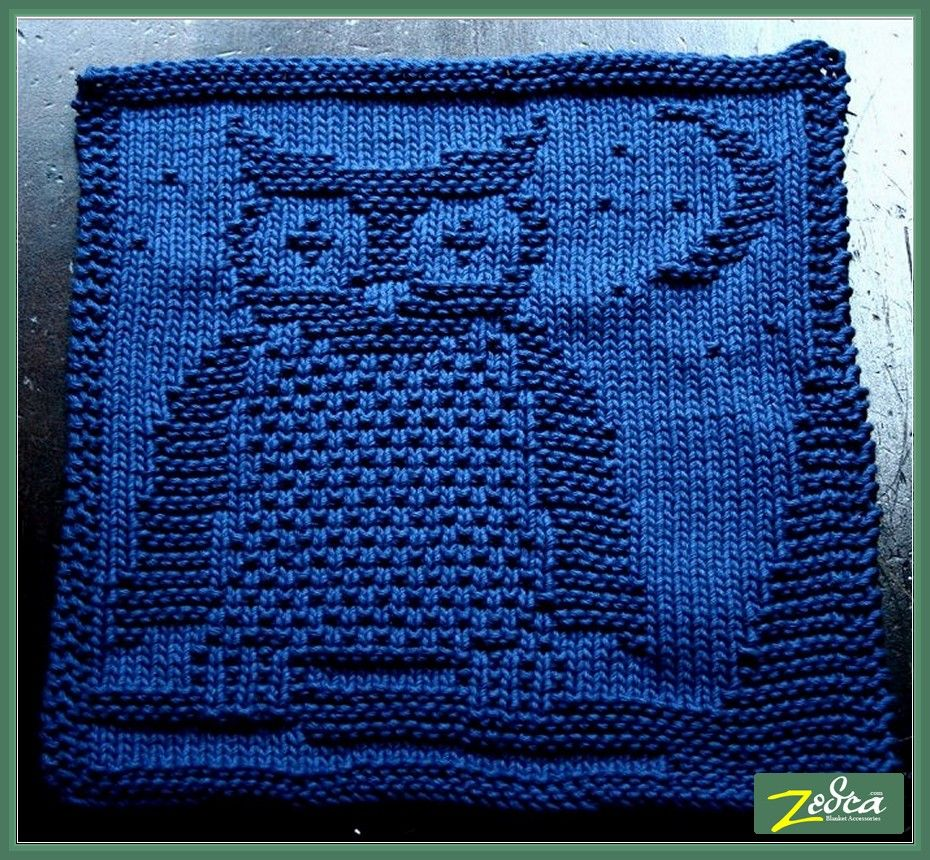 Owls Baby Blanket Knitting Pattern Baby bedding, blankets, and more ...
