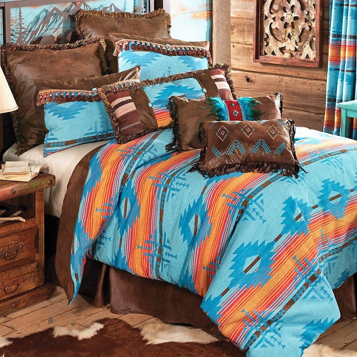 Southern Bedding Southern Sky Blue Diamond Bedding