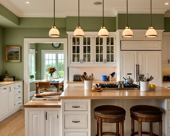 Connecticut Home Paint For Kitchen Walls Green Kitchen