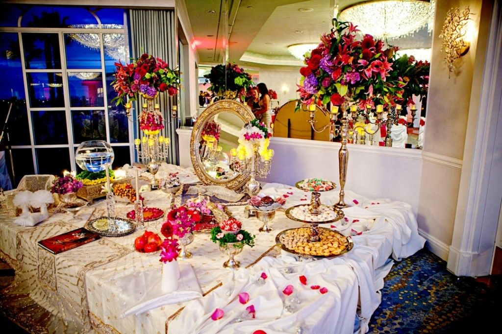 39persian weddings are so rich in islamic traditions and for Persian wedding ceremony table
