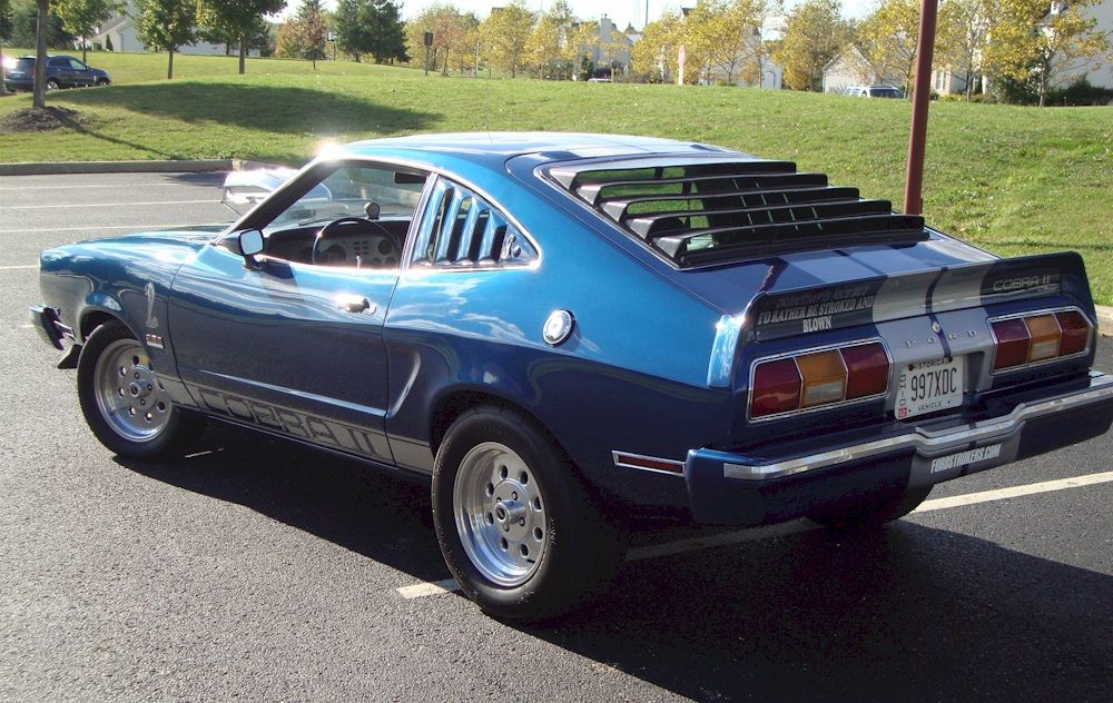 1976 mustang cobra blue 1976 mustang cobra ii hatchback. Black Bedroom Furniture Sets. Home Design Ideas