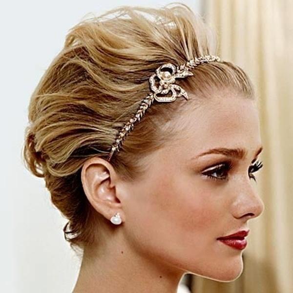 peinados para invitadas con pelo corto preparar tu boda es