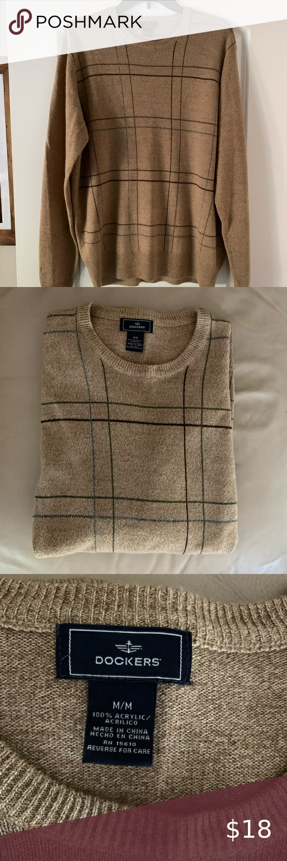 DOCKERS pullover sweater in 2020 Pullover sweaters