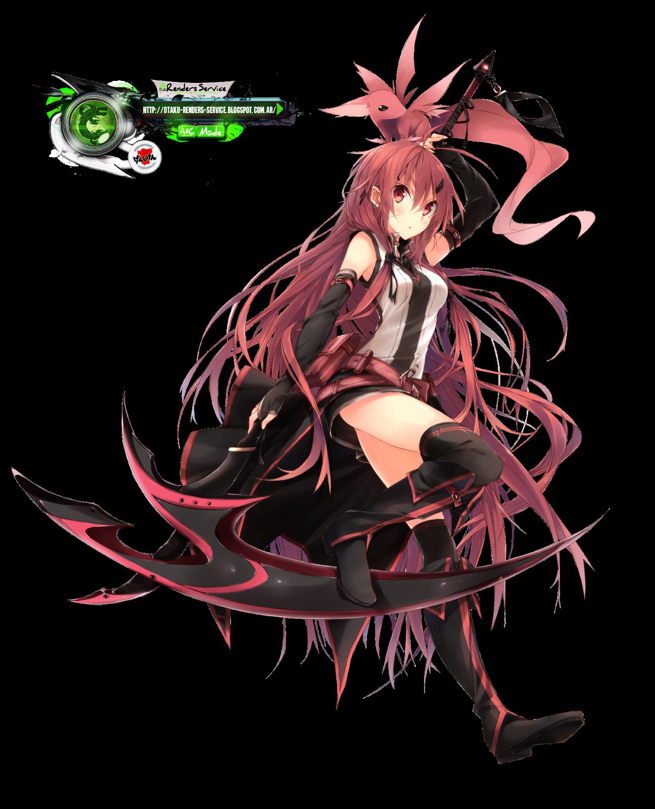 Fantasy Warrior Girl Kakoii Render Png 1296 1600 Guerreiro Anime Menina Anime Anime