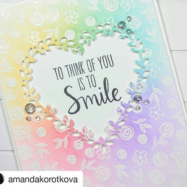 Card By Amanda Amandakorotkova Love You Mean It Stamp Set And
