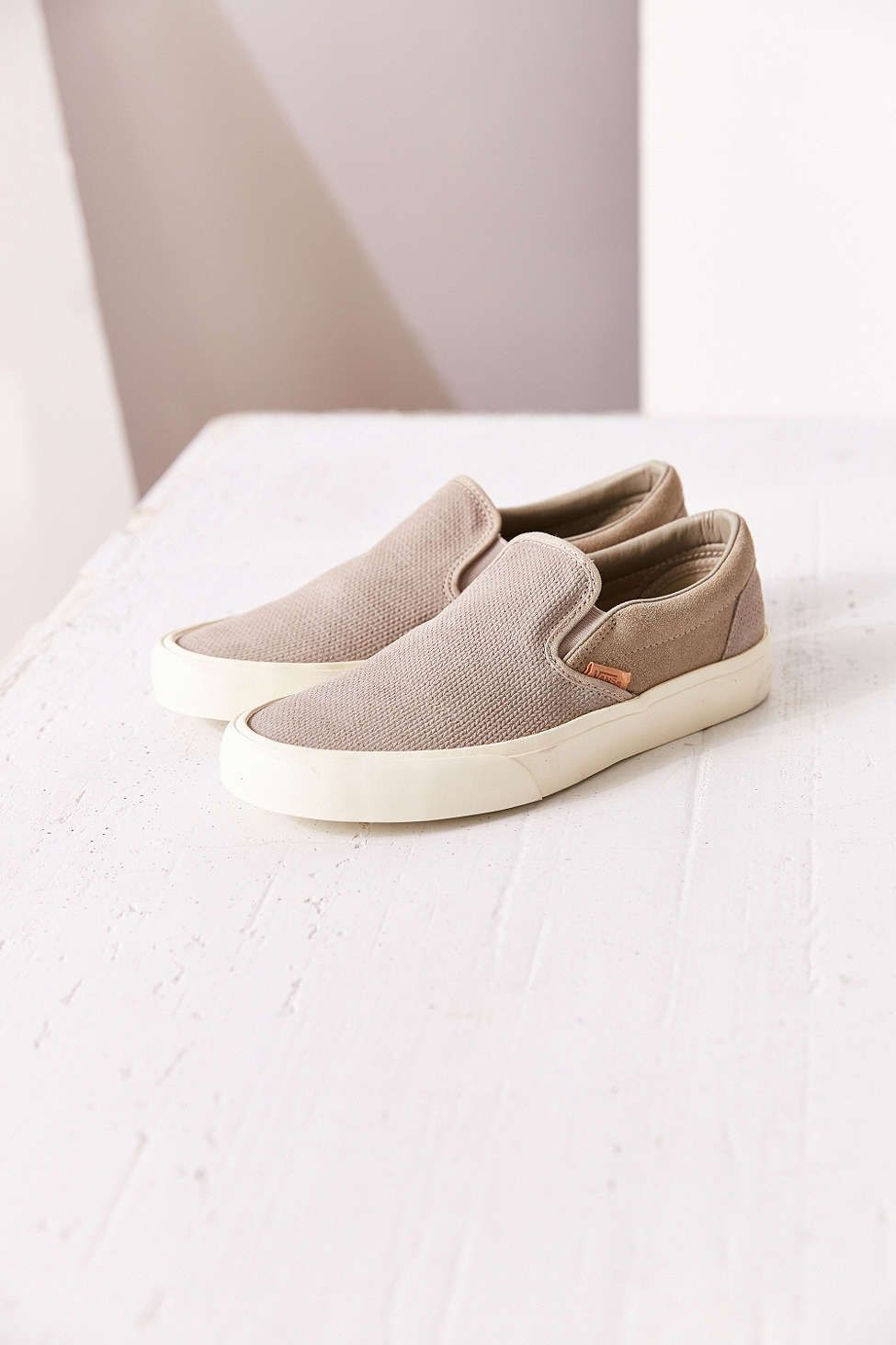 030bc677545 Vans Classic Knit Suede Slip-On Women s Sneaker ...