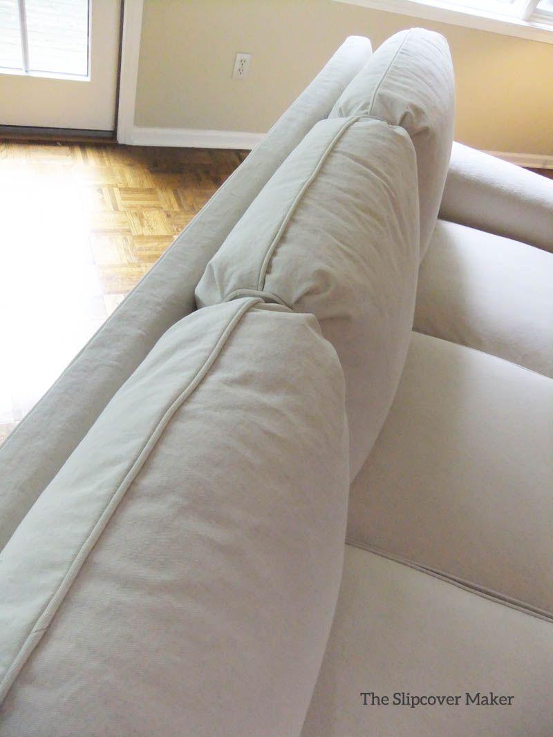 Natural Denim Slipcover For Sherrill Sofa Slipcovers