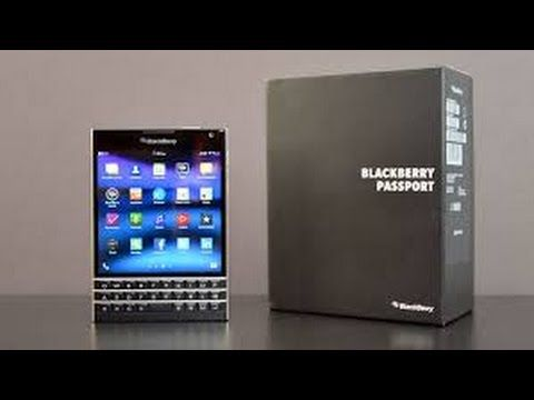 Blackberry Passport Review 2016