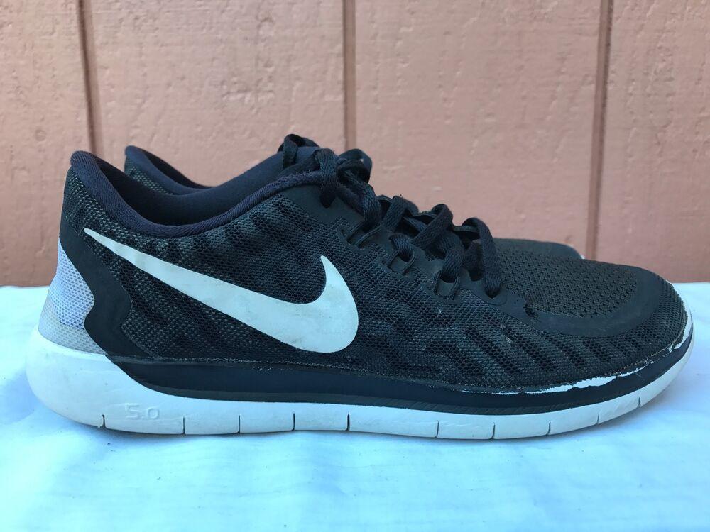 eBay #Sponsored Nike Free 5.0 725104 001 BlackWhite Dark