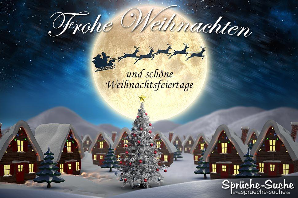 Frohes Weihnachtsfest Sprüche Noel