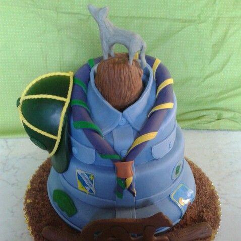 Torta scout torte scout cake camping meals e torte for Idee per gara di cucina scout