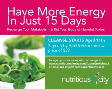 Great guided group cleanse for those intimidated by the thought of doing a cleanse alone.  http://www.nutritiousinthecity.com/forms-jen-loboda