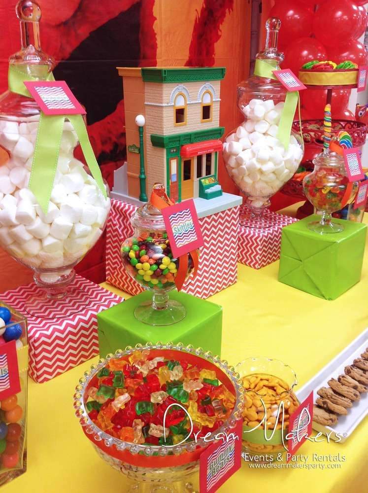 Elmo & Sesame Street Birthday Party Ideas | Photo 1 of 20 | Catch My Party