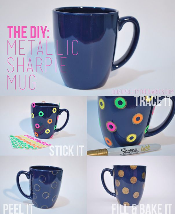 OH SO PRETTY the DIARIES: the DIY | Craft Ideas | Diy mugs ...