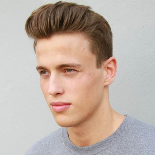 Groovy Short Sides Long Top Mens Haircuts Fine Hair Short Sides Hairstyles For Men Maxibearus