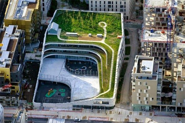 A escola verde no coração urbano de Paris - Curtir Espetacular
