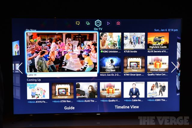 Samsung tries to do it all with new Smart TV interface