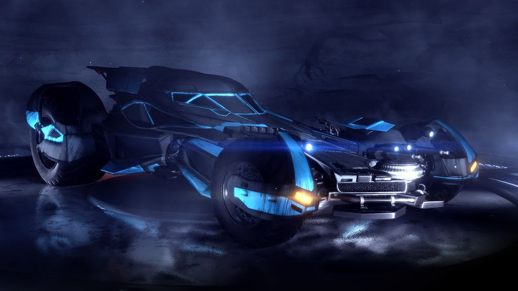 Take To The Field With The Batmobile In Rocket League Rocket League Wallpaper Rocket League Batmobile