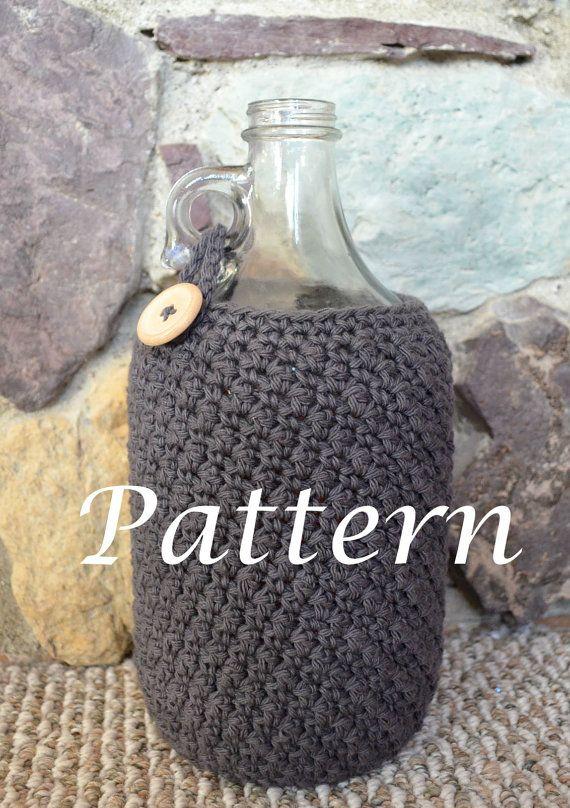 Crocheted Growler Cozie
