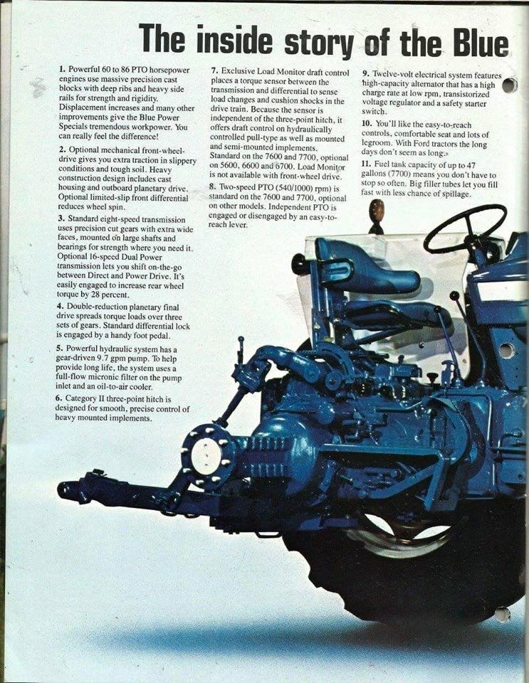 FORD Blue Power Specials Ad