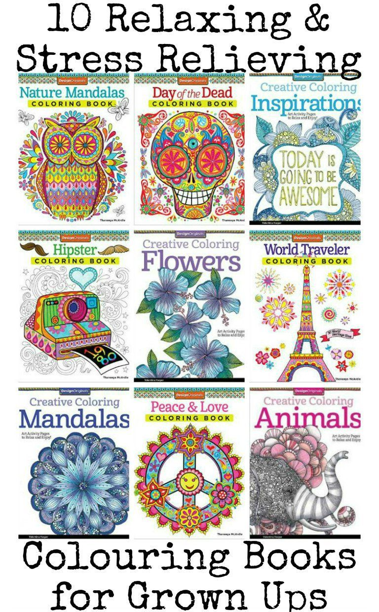 10 awesome relaxing and stress relieving colouring books ...