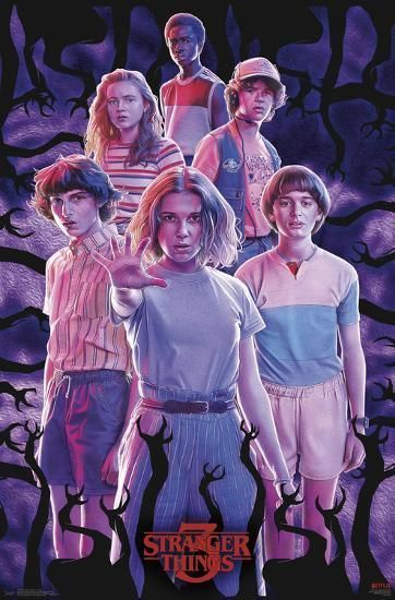 Stranger Things 3 - Group Prints - #Group #Prints #Stranger #seriesonnetflix