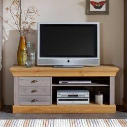 Photo of Tv Regal aus Kiefer teilmassiv Landhausstil Life Meubles