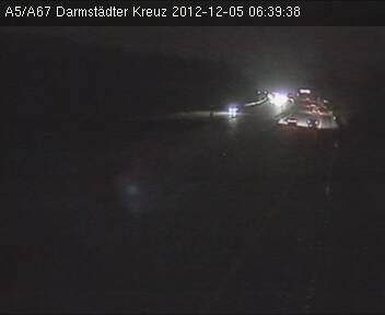 Darmstädter Kreuz A5 / A67 Verkehr