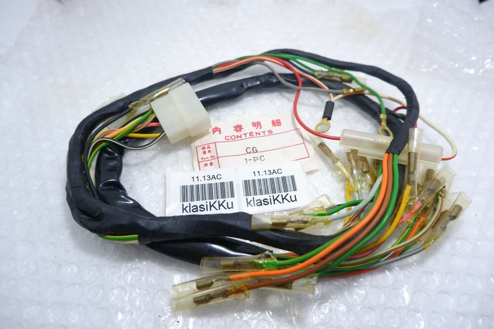 Honda Cg May Fit Cg110 Cg125 Main Wire Harness Nos Aftermarket Unknown