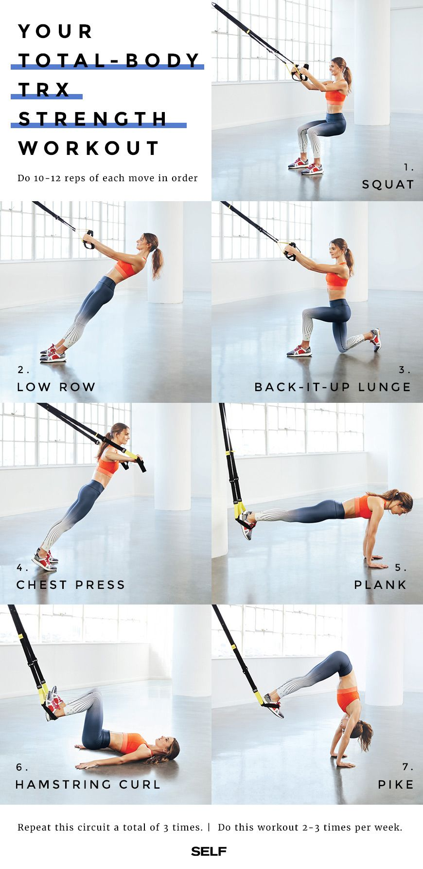 Do this routine of powerhouse basics to perfect your TRX technique while you zing every muscle.