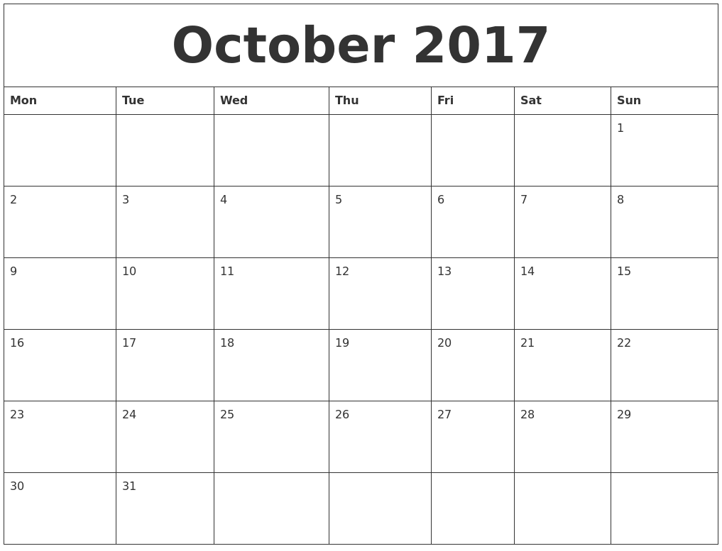 Free Printable Monthly Calendar  Invoice    Free