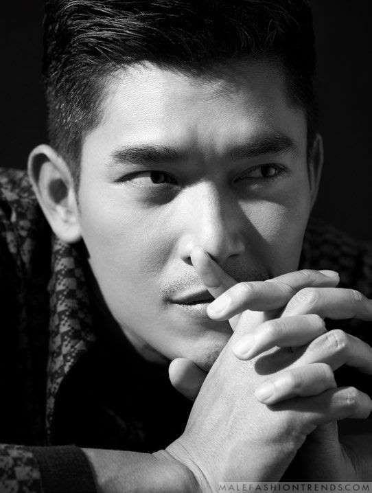 Elvin Ng por Joel Low para Men's Folio Singapur