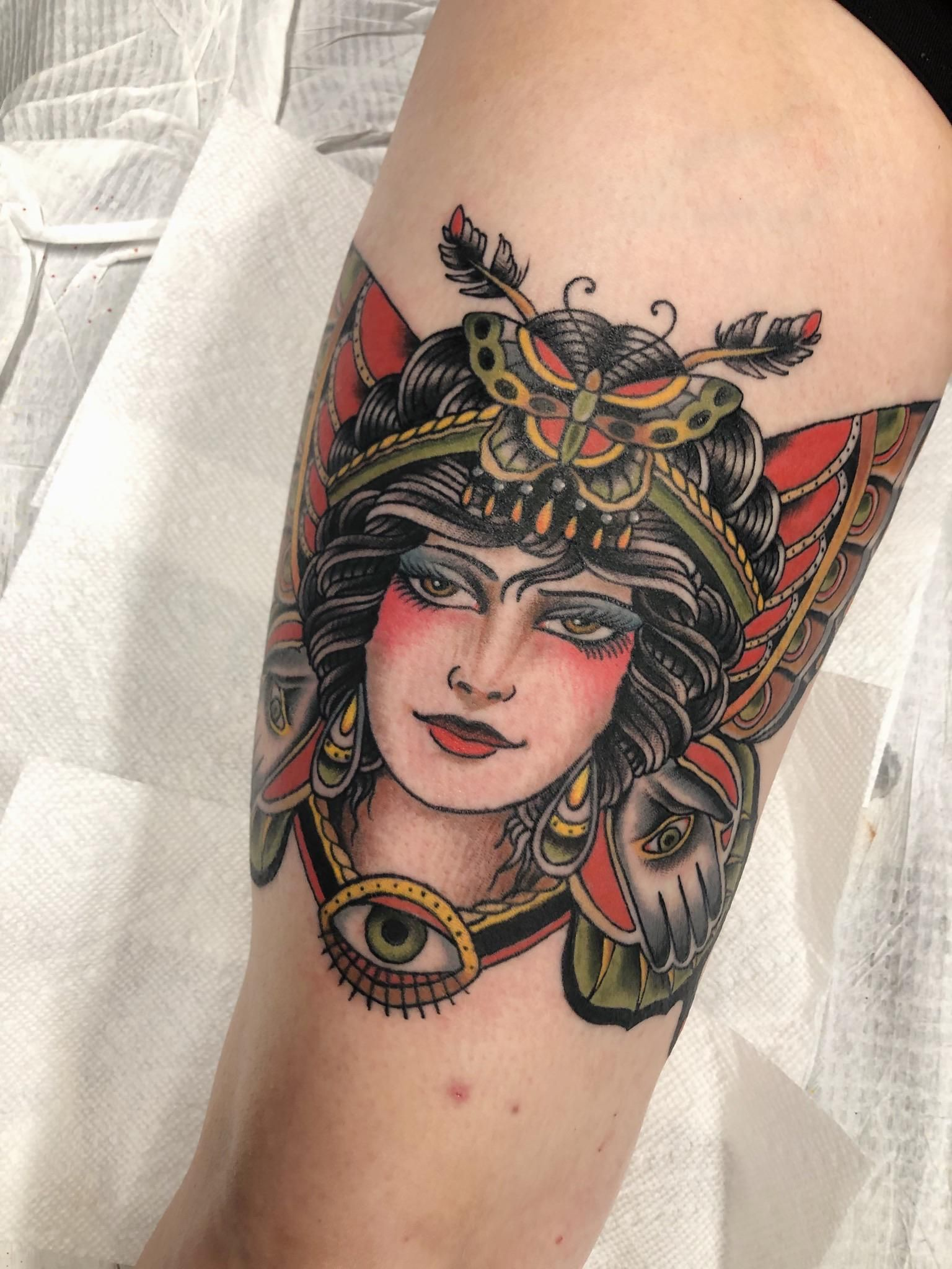 Paul Dobleman Style By John Setzer In Richmondva At Yellowbird Tattoo In 2020 Tattoos R Tattoo Tattoo Photos