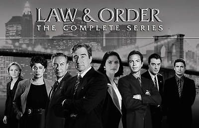 cds dvds vhs: Law And Order: The Complete Series Dvd 104-Disc Set (2011) Seasons 1-20 New BUY IT NOW ONLY: $150.0