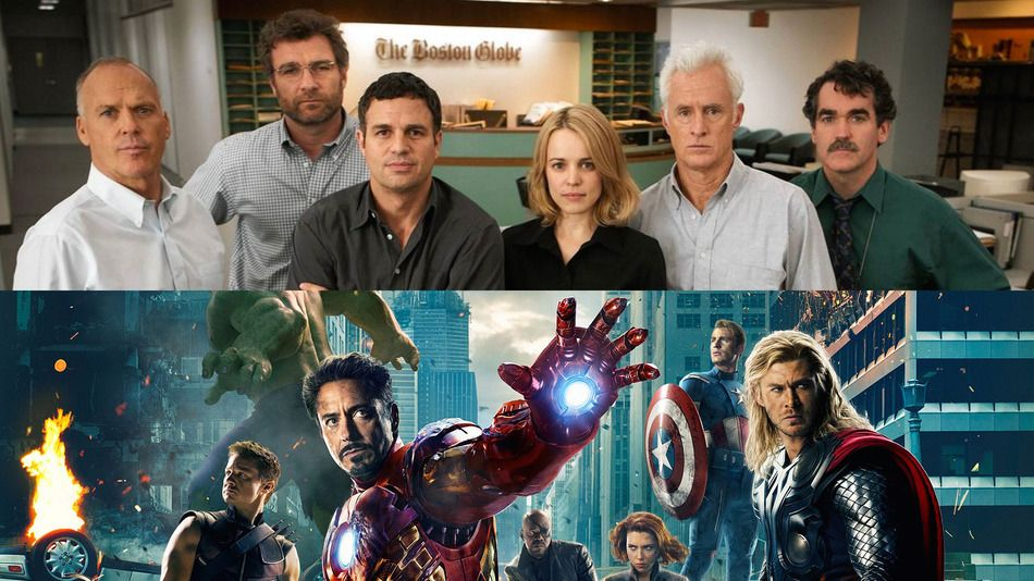 The 'Spotlight' journalists have perfectly matching 'Avengers' counterparts - http://eleccafe.com/2015/11/09/the-spotlight-journalists-have-perfectly-matching-avengers-counterparts/