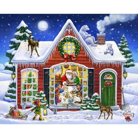 Vermont Christmas Company Christmas Feast - 1000 Piece Jigsaw Puzzle