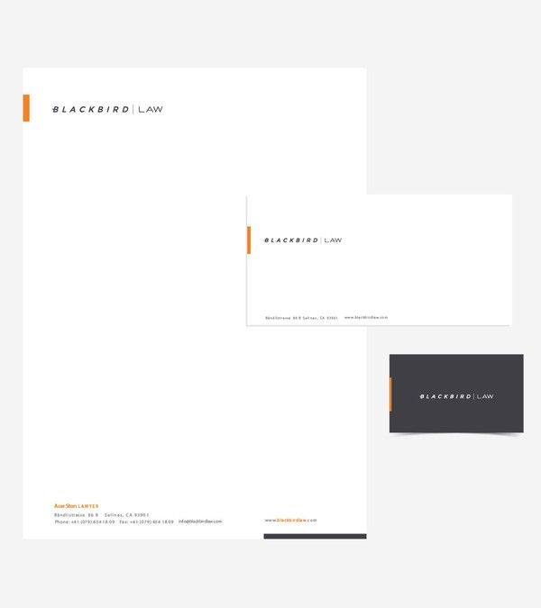 Winning design by ionio Company Stationery Pinterest - legal letterhead template
