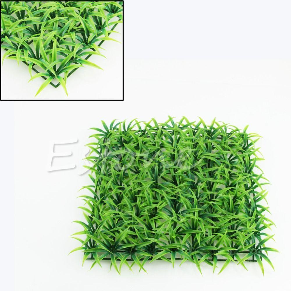 New artificial water plastic green grass plant lawn aquatic aquarium