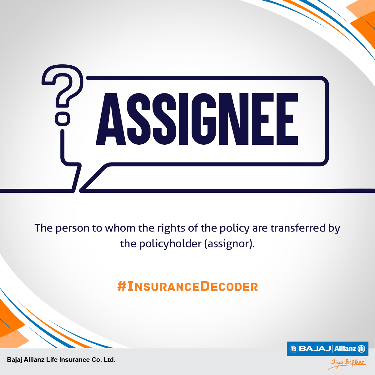Don't get intimidated by insurance jargon. It is usually