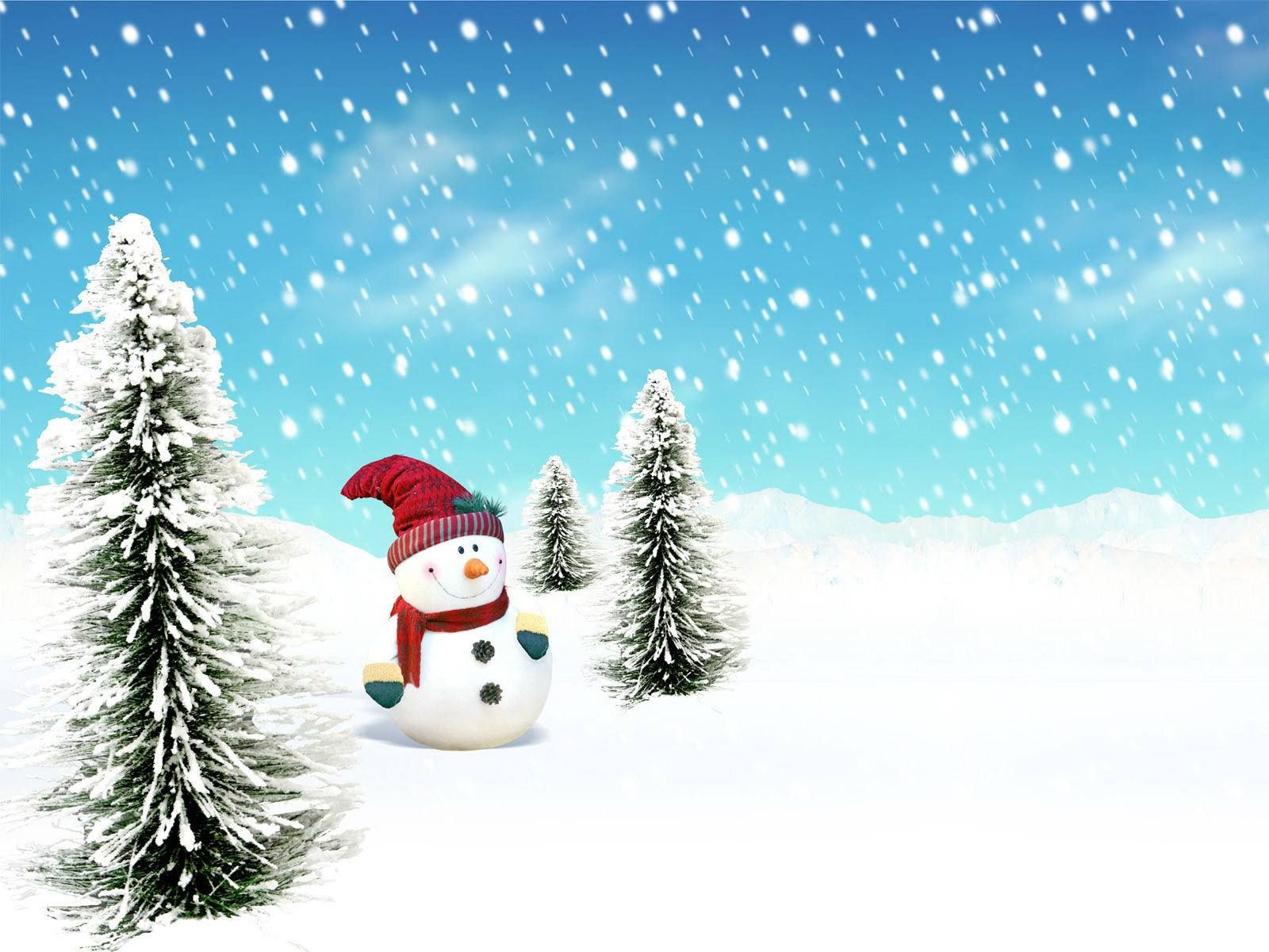 Choose Bellow For Your Favorite Snowman Wallpaper. Snowman Is Being Made  During Christmas Time, And Is Very Popular Among Kids.