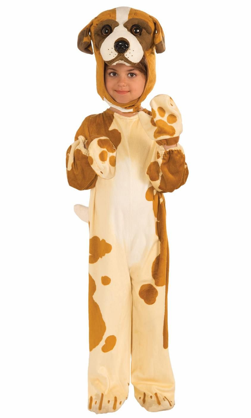 Plush Brown Dog Child Costume