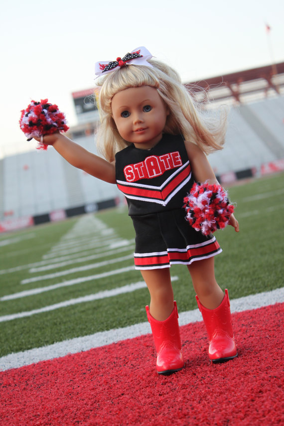 Oh Mickey Cheerleading Uniform for DOLLY PDF Sewing Pattern Sized ...