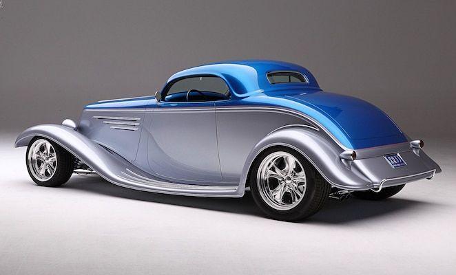 Chip Foose y Marcel De Ley convirtieron este Speed33 Cabrio en un Hardtop Coupe ...   - 33 Ford -