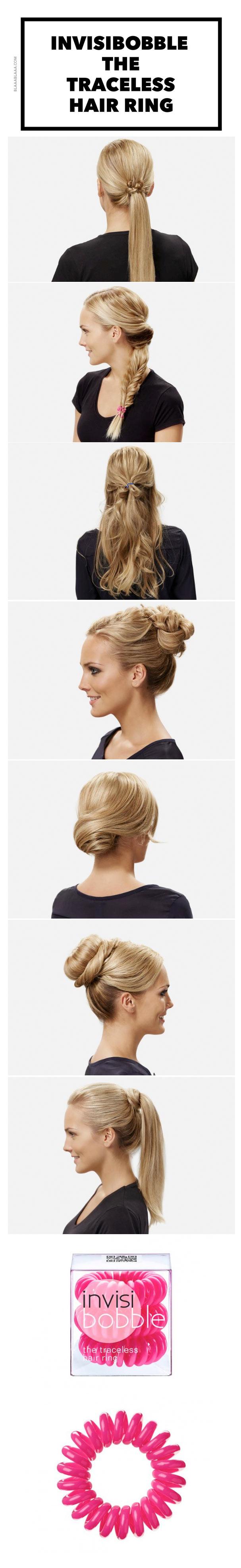 Invisibobble Das Frisuren Gadget Blaaablaaa Frisuren Haarzubehor Haarschonheit