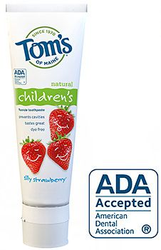Tom S Of Maine Silly Strawberry Toothpaste Review Dye Free Foods