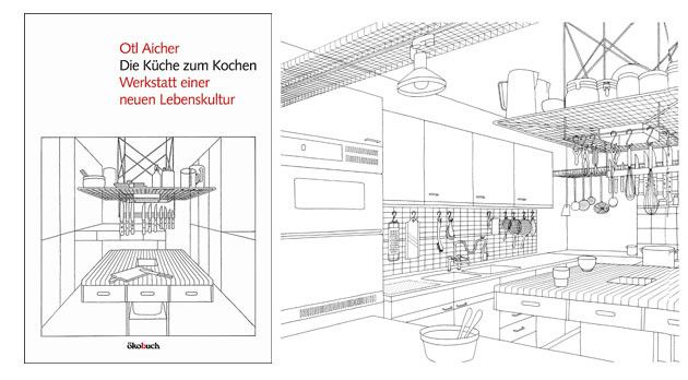 Die Küche zum Kochen Manual de cocina de Otl Aicher 01 kitchen - möbel martin kaiserslautern küchen